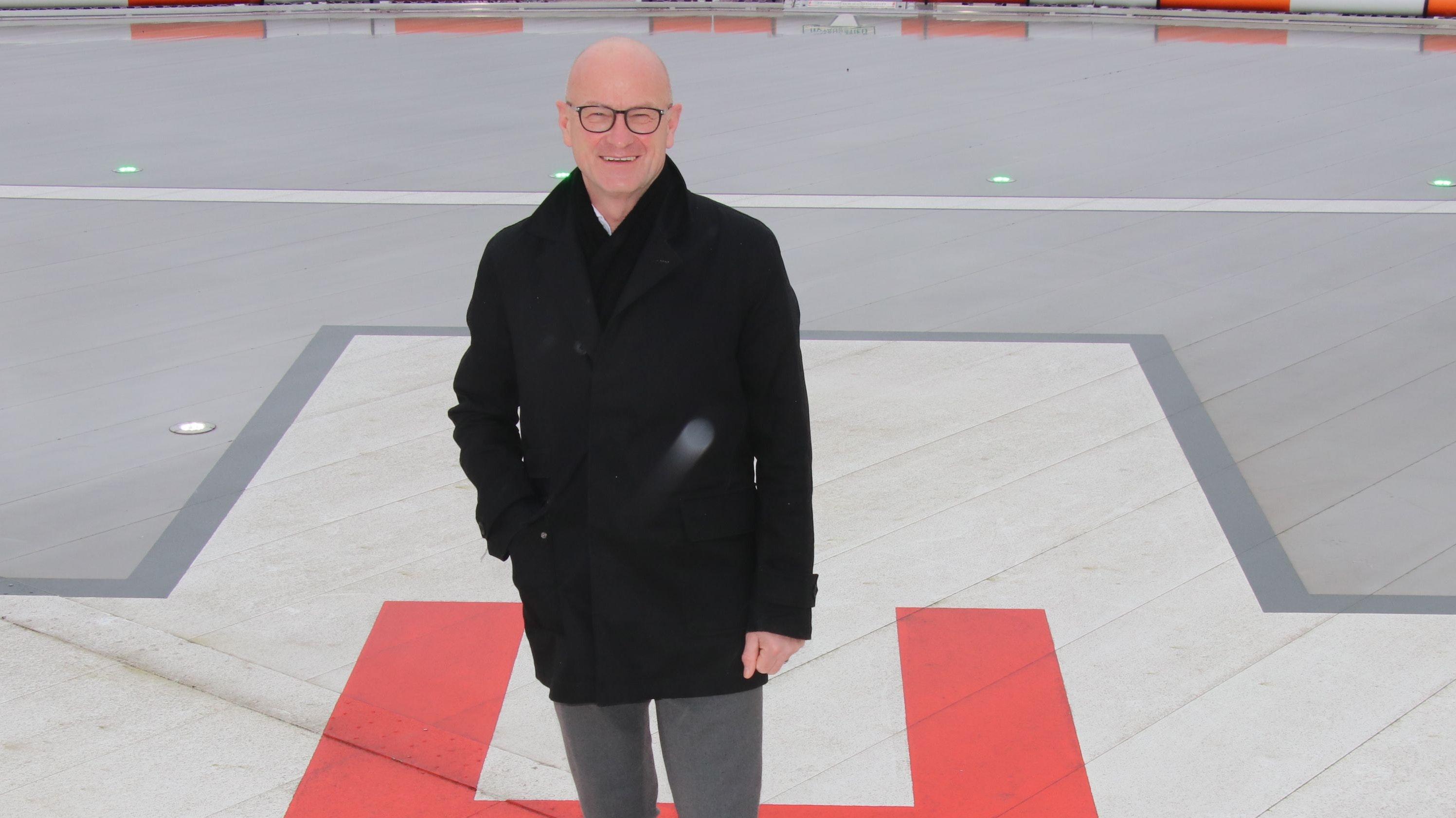 Geht: Ralf Grieshop verlässt das Dammer Krankenhaus zum 1. April. Foto: Lammert