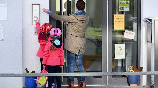 Kindergärten wechseln in den Notbetreuungs-Modus