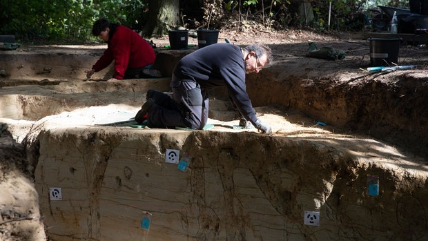 Möglicherweise römisches Lager in Kalkriese