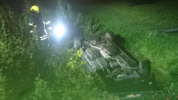 18-Jähriger überschlägt sich mit Auto in Damme
