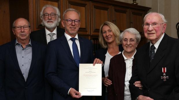 Hohe Auszeichnung für Engelbert Hasenkamp