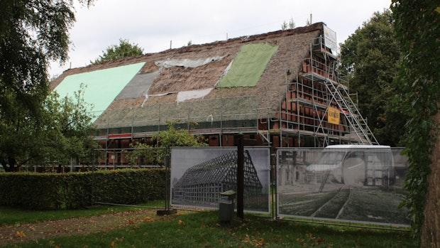 Hofanlage Haake im Museumsdorf Cloppenburg wird saniert