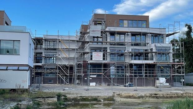 Eines von 2 Bauprojekten nähert sich der Fertigstellung
