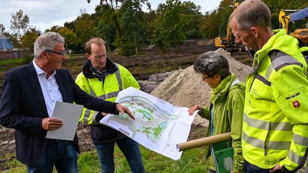 Stadt schafft natürlichen Schutz gegen Überflutung