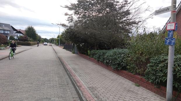 """Falkenstraße und Pastors Kamp erhalten Note """"Mangelhaft"""""""