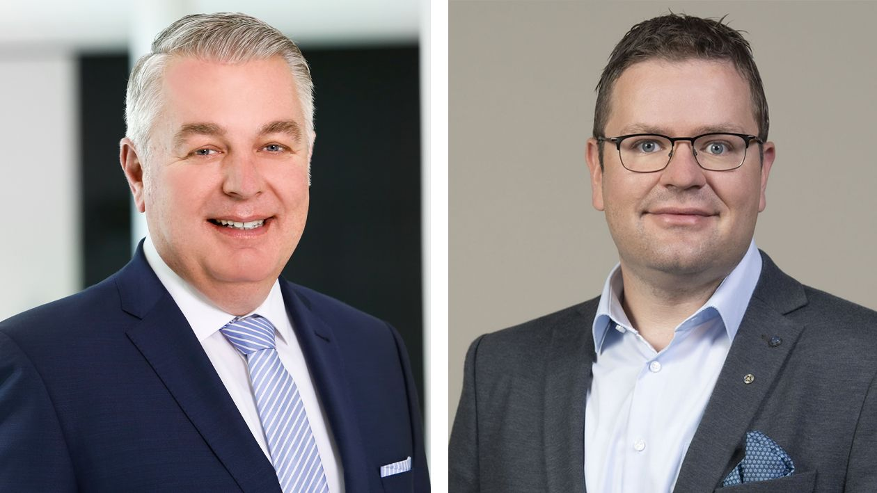 Kreisvorsitzender Christoph Eilers (links) und Cloppenburgs Stadtverbandsvorsitzender Prof. Dr. Marco Beeken im Gespräch mit OM Online. Fotos: CDU