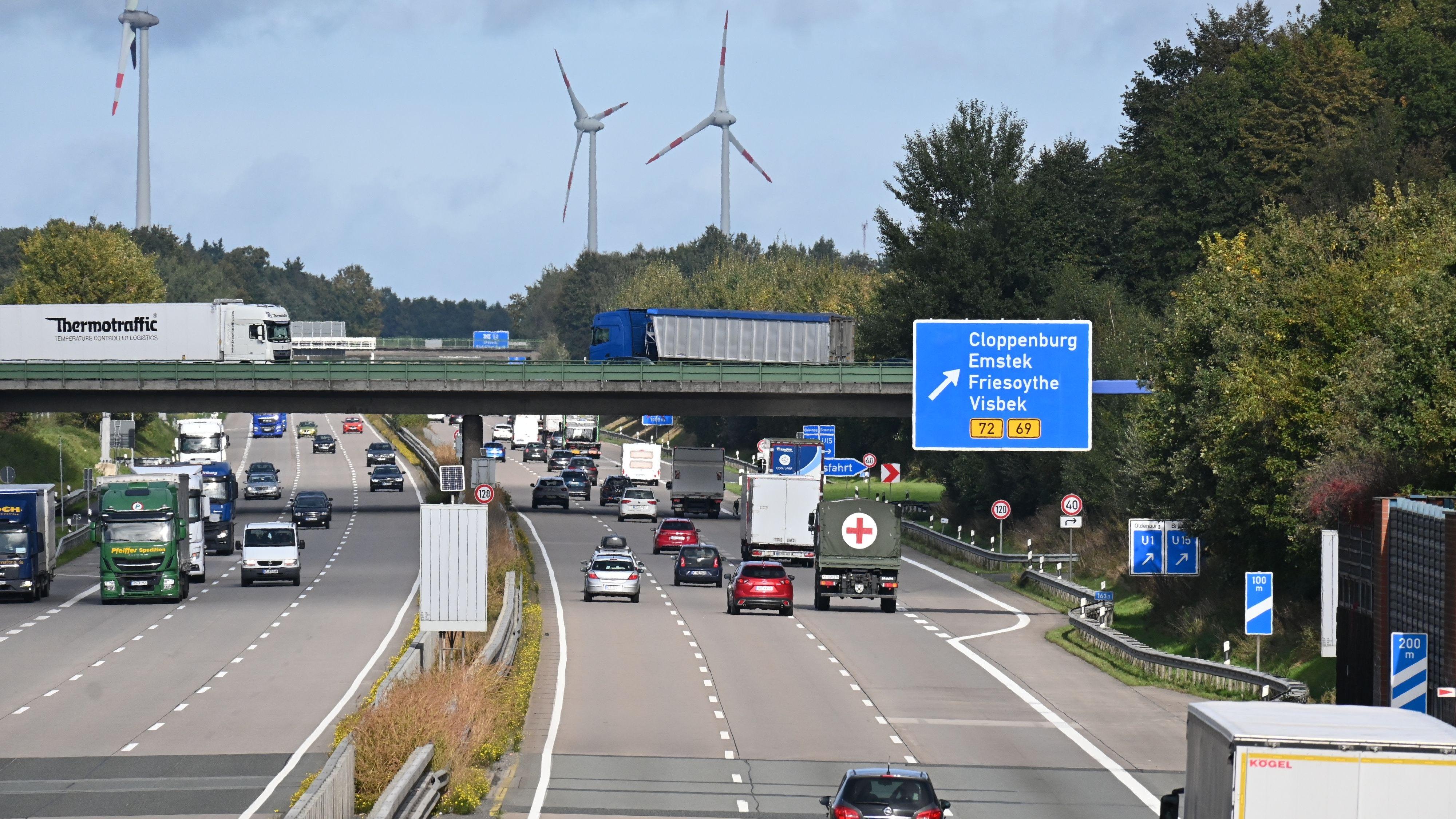 In der Kritik: Für den neuen Anschluss an die A1 gibt es zusätzlichen Flächenbedarf. Foto: Vorwerk