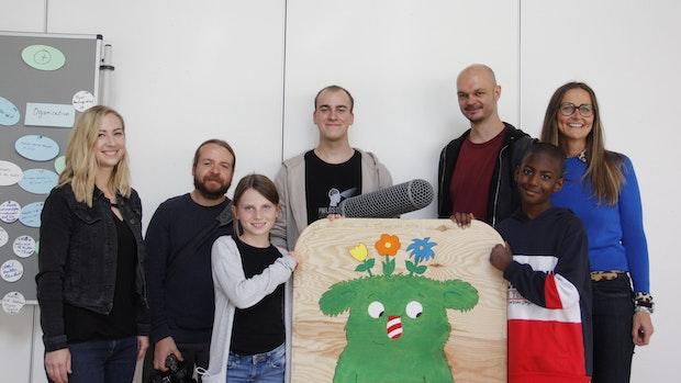 Overbergschule setzt ein Zeichen für Kinderrechte