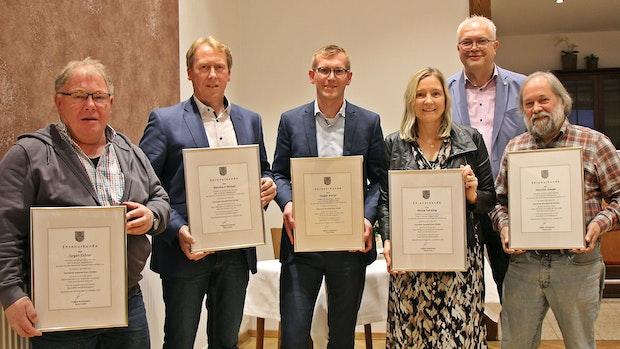 Neuenkirchen-Vörden verabschiedet 8 Gemeinderatsmitglieder