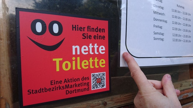 "Stadt Vechta bekommt die ""Nette Toilette"""