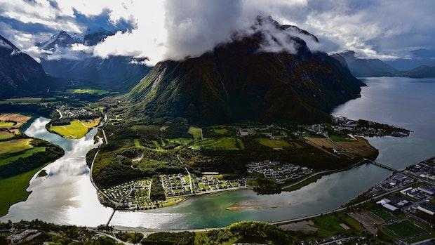 In Norwegen: Nach dem Aufstieg kommt die Aussicht