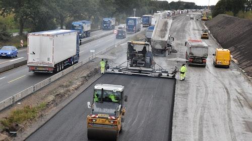 Sechsspuriger Ausbau der Autobahn 1 kommt Meter um Meter voran