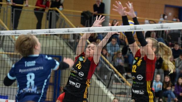 Hildesheim eine Nummer zu groß für die TVC-Volleyballfrauen