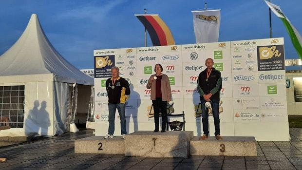 4. Deutscher Meistertitel für Silvia Huesmann
