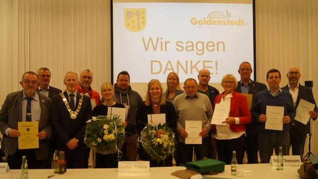 8 Männer und Frauen verlassen den Goldenstedter Gemeinderat