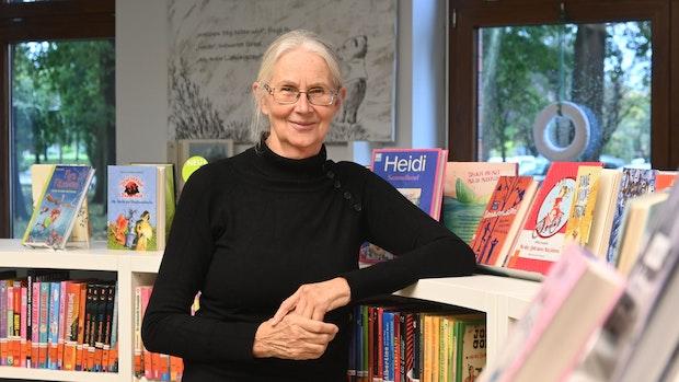 Ulla Moormann herrscht über tausende Bücher