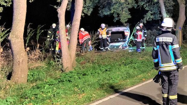 28-Jähriger bei Unfall in Bösel schwer verletzt