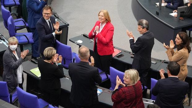 Erstmals seit 1998 wieder eine Frau an Bundestagsspitze