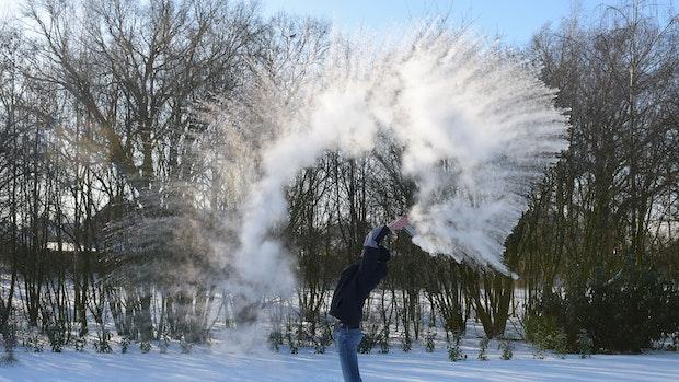 Von heiß zu Eis binnen Millisekunden