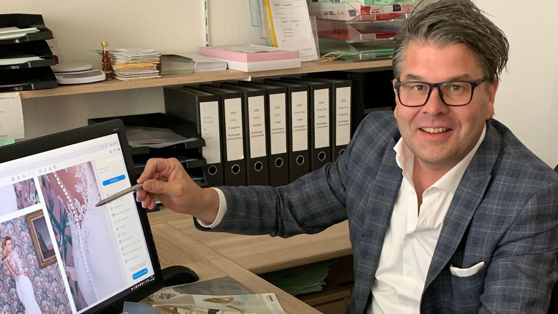 Lockdown falsch umgesetzt: Frank Hanneken aus Friesoyther ärgert sich über Wettbewerbsverzerrungen in der Corona-Pandemie. Foto: Franziska Wisgalle