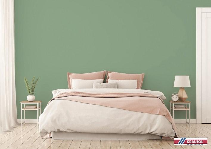 Frische Farben fürs Schlafzimmer. Foto: Stock adobeMarina_Dikh