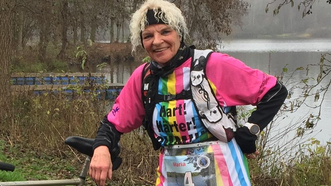 Marathon-Frau: Maria Rolfes aus Lohne. Foto: privat