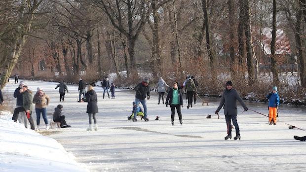 Jetzt kommt Tauwetter: Eis hatte die Wasserstraßen im Griff