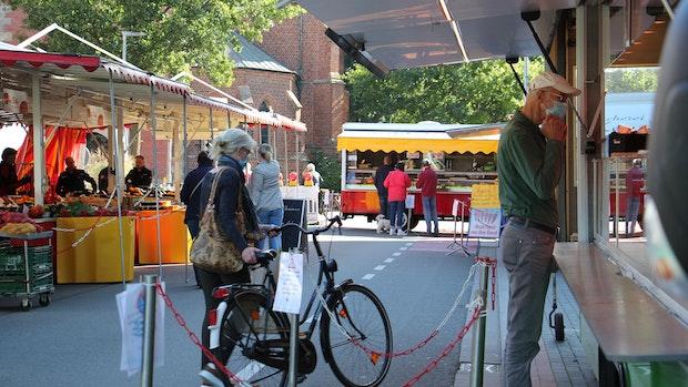 Vechtaer Wochenmarkt bleibt an der Bahnhofstraße