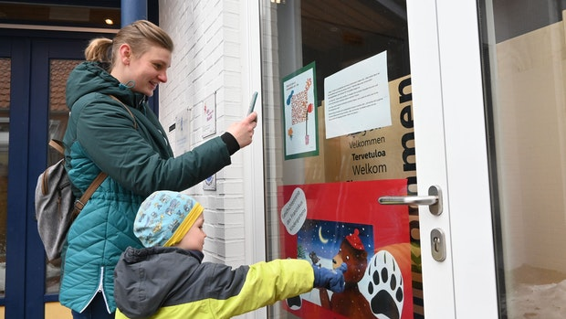 Emsteker Kinder machen Geschichtenreise per QR-Code