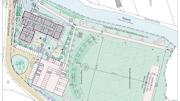 Multifunktionsplatz: Friesoythe will Burgwiese für Events ausbauen