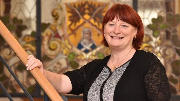 Oberbürgermeisterin als Traumberuf: Kerstin Körner führt als erste Frau  Bösels Partnerstadt Dippoldiswalde. Foto: Stadt Dippoldiswalde