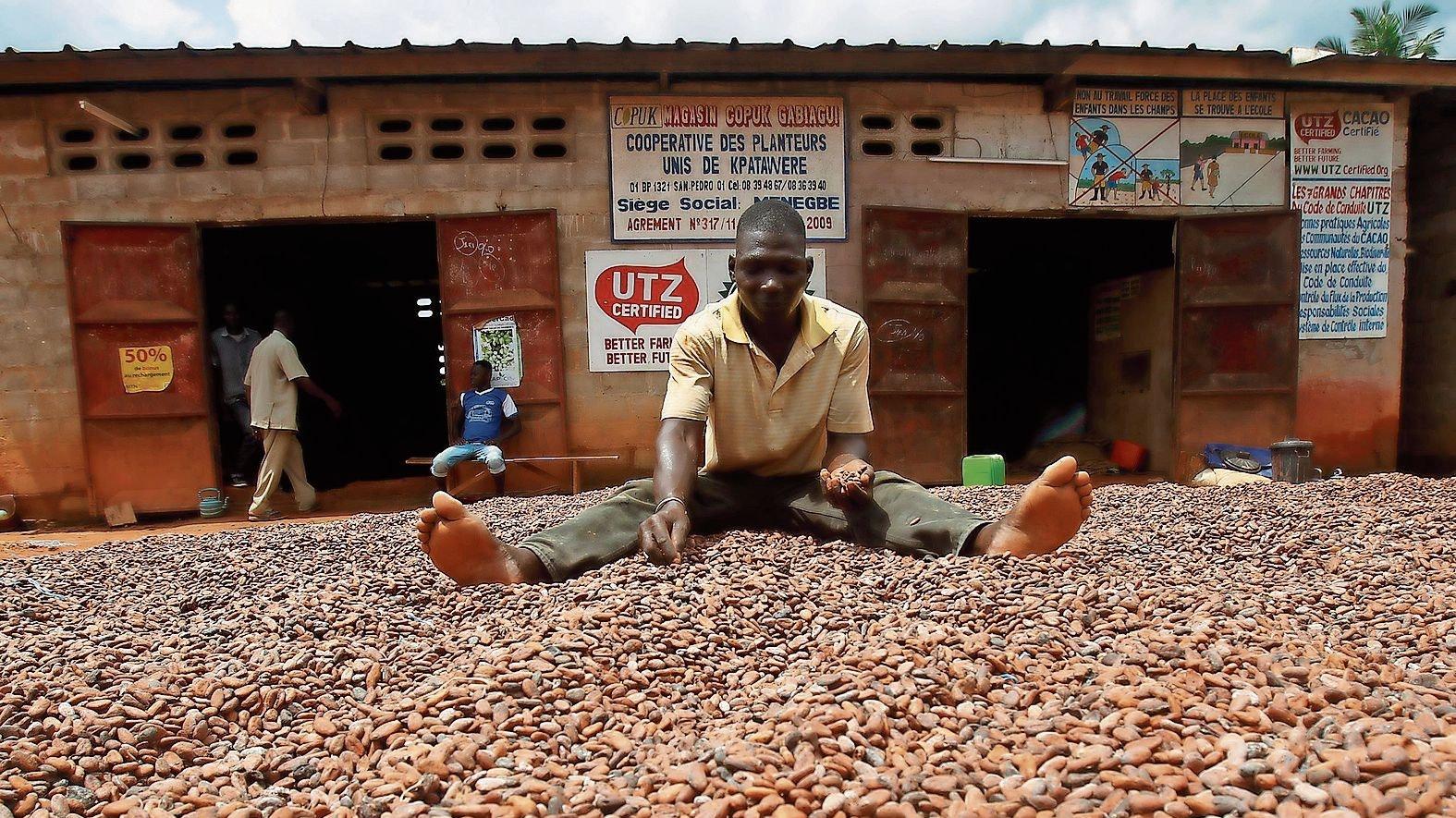 Verantwortung gefragt: Unternehmen, die mit Zulieferern in Entwicklungsländern zusammenarbeiten, sollen auf die Einhaltung von Menschenrechten pochen. Foto: picture alliance/dpa/EPA | Legnan Koula