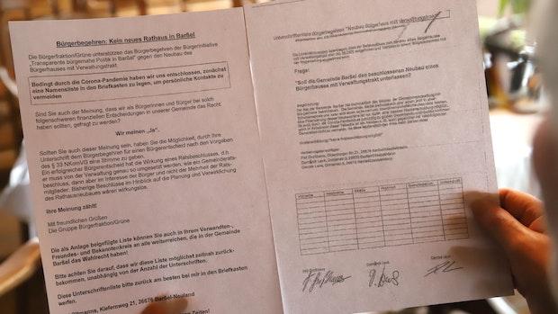 Rathaus-Neubau: Bürgerinitiative erhält Rückendeckung von der Bürgerfraktion