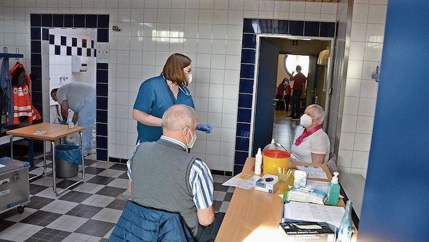 Essen impft: Ü-80-Jährige sind einmal durch