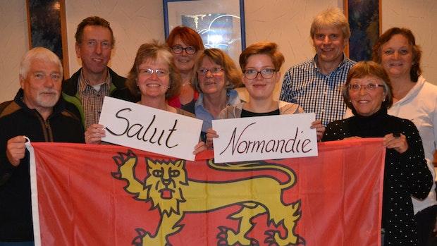 Salut Normandie hält den Kontakt nach Frankreich