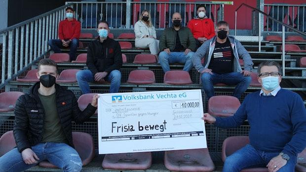 """""""Frisia bewegt"""" bringt 10.000 Euro für SgH"""
