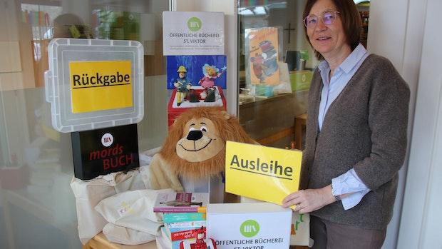 Anja Kramer hofft auf bessere Zeiten: Lockdown schränkt Bücherei sehr ein