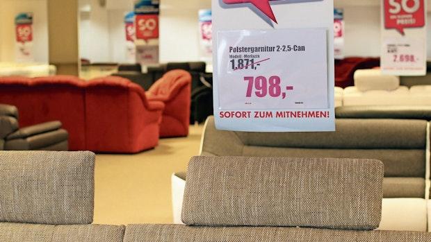 Möbelriese: Verkaufsfläche ist überdimensioniert