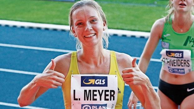 Lea Meyer ergattert Ticket für die Europameisterschaften