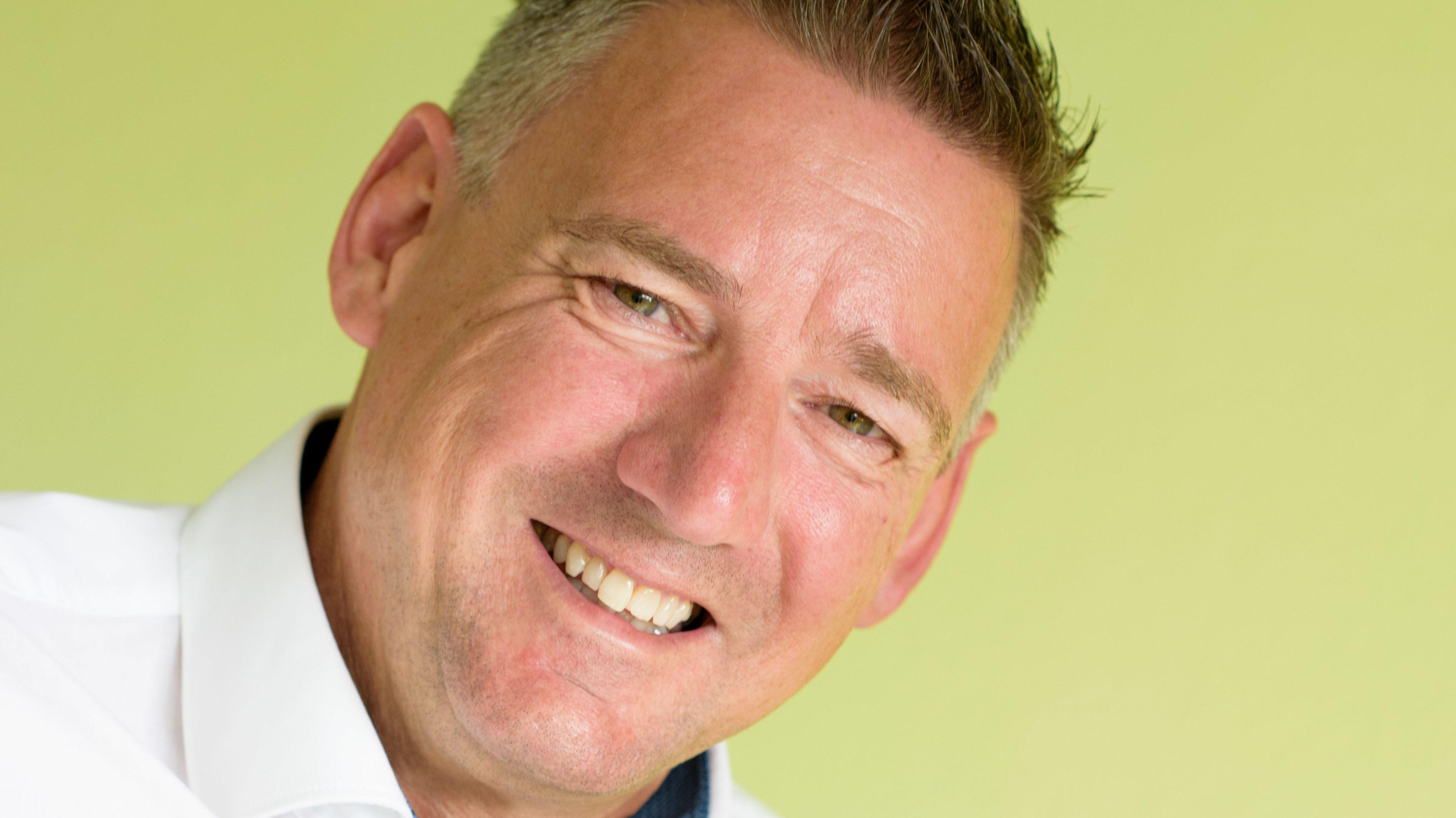 Ein Engländer in Dinklage: Ian Burgess. Foto: M. Niehues