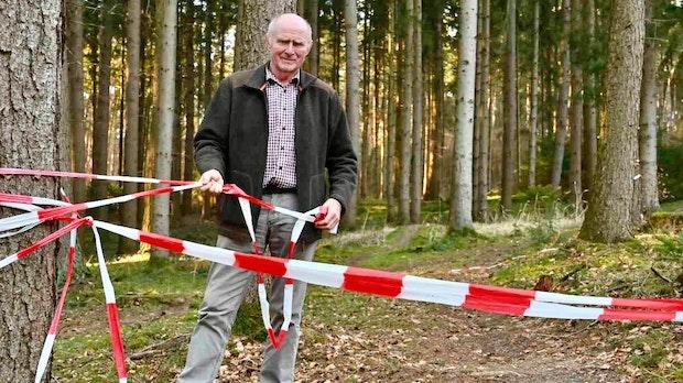 Dammer Berge: Waldbesitzer wollen Mountainbiker ausbremsen