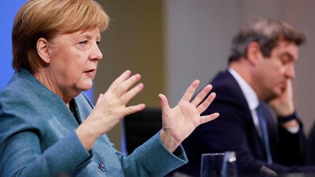 Merkel und Söder bremsen Hoffnung auf schnelle Lockerungen