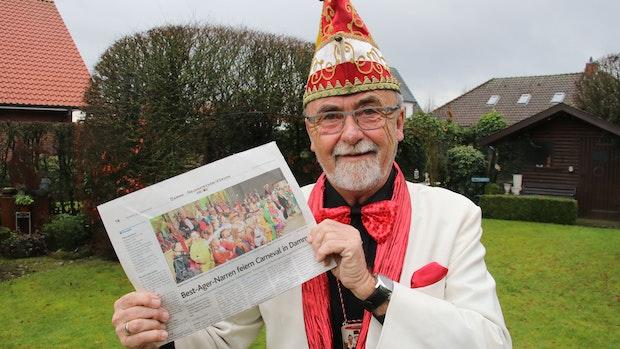 Ein Dammer Narr im Unruhestand: Helmut Wolf setzt auf den Seniorencarneval 2022