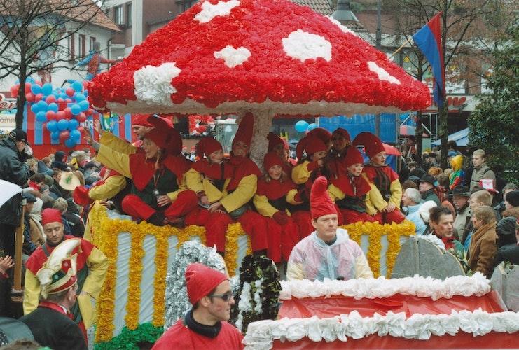 Der Dammer Carneval ist auch alljährlich ein Familienfest, bei dem alle unter einem Hut mitmachen. Foto: Stadtmuseum Damme