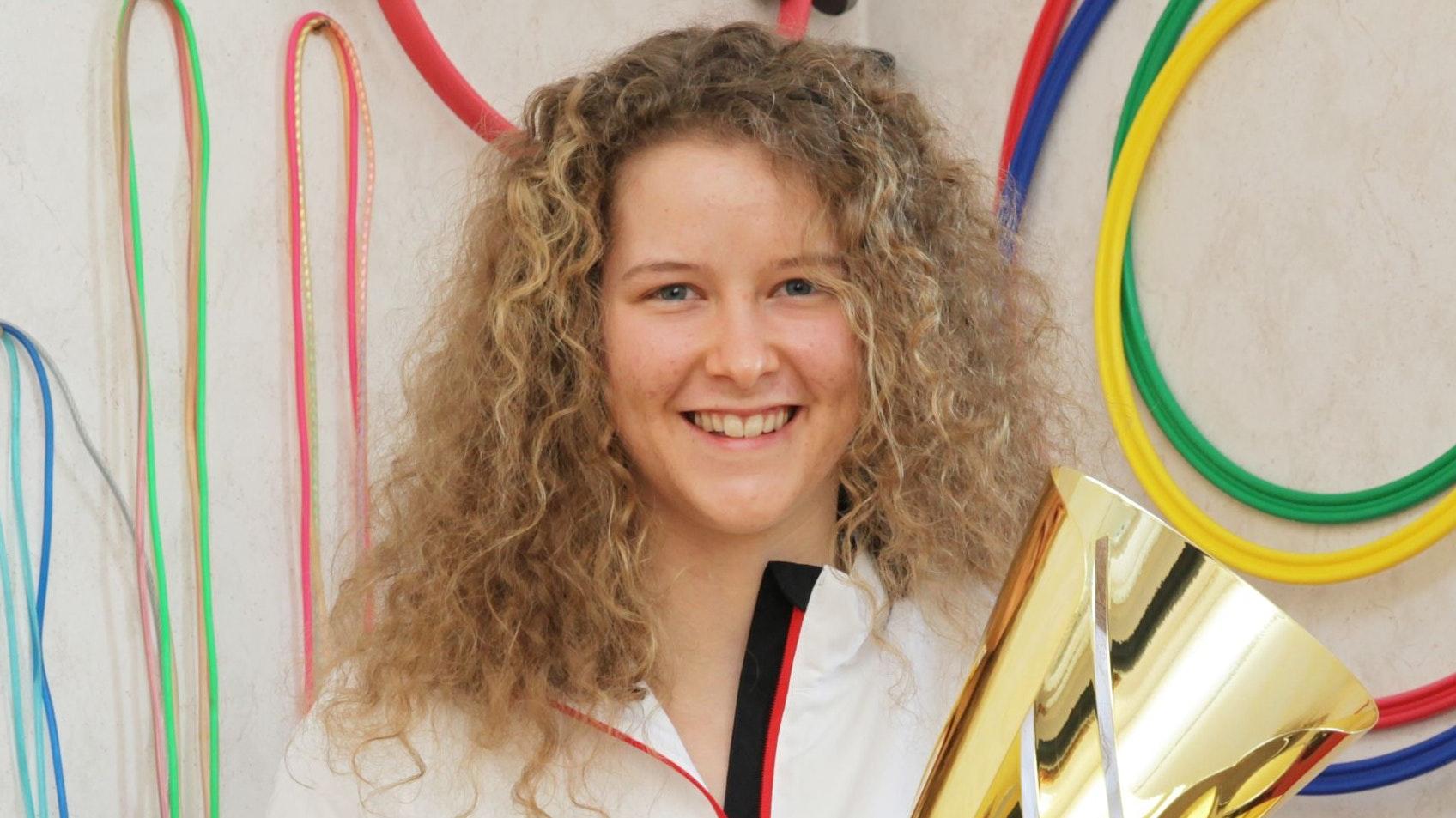 Auf nach Spanien: Julia Middendorf. Foto: Schikora