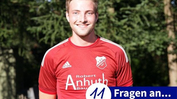 Steffen Scheper sollte nicht schießen - und haute den Ball in den Winkel