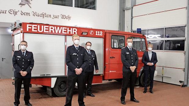 Feuerwehr Schwichteler:Hackmann löst Benkert ab