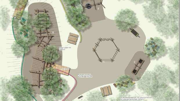 Waldspielplatz erlebt eine Renaissance