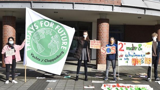 Fridays for Future streikt in Vechta