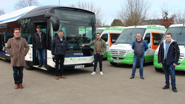 Premiere: Im Oldenburger Münsterland fährt der erste Elektrobus